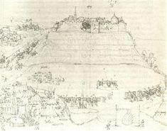 Hohenasperg siege by Georg von Frundsberg in war of Swabian federal versus Herzog Ulrich - Albrecht Durer