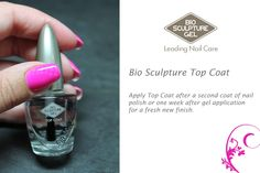 Done by Bio Sculpture Stellenbosch Bio Sculpture Nails, Gel Top Coat, Nail Treatment, Gorgeous Nails, Natural Nails, Nail Care, Nail Polish, How To Apply, Nail Stuff