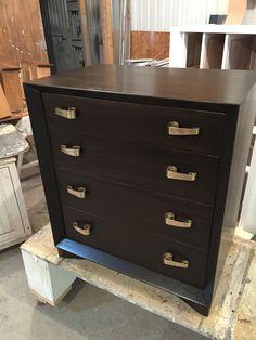 Mod dresser stained dark