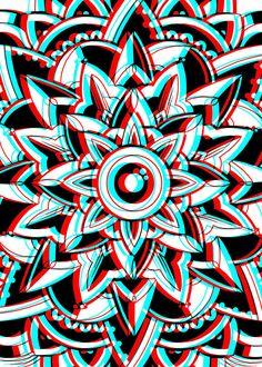 Gif Displate Poster Acid Trip mandala Putting Some Th Acid Wallpaper, Trippy Wallpaper, Retro Wallpaper, Trippy Photos, Trippy Drawings, Trippy Cat, Psychadelic Art, Trippy Painting, Acid Art