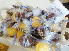 Mini muffins para que los invitados se lleven a casa, de Süss Pastelería