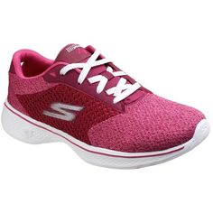 Skechers Womens Go Walk 4 Exceed Raspberry Every day is a choice Choose greatness with the Skechers GOwalk 4 Features innovative 5GEN midsole design