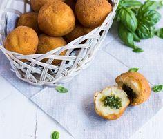 Crocchette di patate, pesto e fagiolini // Vegan