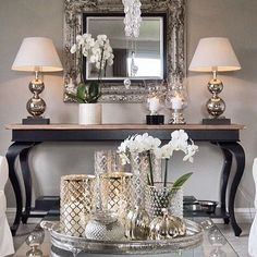 Youngsters Area Home Furnishings 24 Stunning Ideas Modern Living Room Decor Glam Living Room, Home And Living, Living Room Decor, Modern Living, Home Interior Design, Interior Decorating, Entryway Decor, Foyer, Living Room Designs