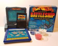 2000 Electronic Battleship Advanced Mission Complete Works Strategy Board Game #Hasbro