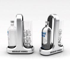 Serving set concepts for Absolut Vodka Design Display, Pos Design, Pos Display, Bottle Display, Wine Display, Stand Design, Absolut Vodka, Pop Drink, Cosmetic Display