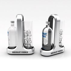 Serving set concepts for Absolut Vodka by Martin Hoontrakul at Coroflot.com
