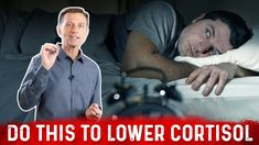How to Lower Cortisol And Fix Your Sleep Low Cortisol Levels, How To Lower Cortisol, High Cortisol, Palmer College Of Chiropractic, Doctor Of Chiropractic, Dr Eric Berg, Dr Berg, Emotional Stress, Neurotransmitters