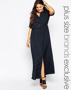 Alice & You Utility Shirt Maxi Dress...  idk, I just like this!
