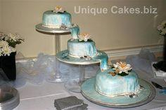 cake if only in purple :( Waterfall Cake, Waterfall Wedding, Cake Decorating Designs, Wedding Reception, Wedding Ideas, Some Ideas, Yummy Cakes, Amazing Cakes, Fondant