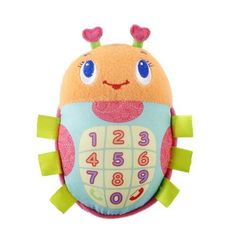 Bright Starts Phone Friend Toy, Bugaboo by Bright Starts. $5.79. What's all the buzz about. Why it's the Pretty In Pink Bugaboo Phone Friend. This cute ladybug phone is filled with sweet little treats for baby girl to explore. From silly sounds to sweet melodies and soft, plush fabrics for on the go fun, this phone is truly all the buzz.. Save 17% Off!