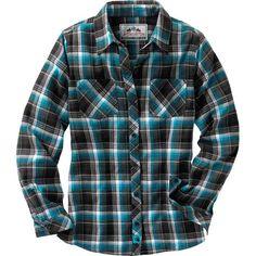 Women's Cabin Retreat Plaid Flannel Shirt at Legendary Whitetails