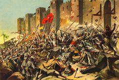 Conquista de Ceuta (os portugueses investem a cidade) (1)