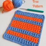 Crochet Star Stitch Variation – Baby Washcloth, Dishcloth & Blanket ~ My Hobby is Crochet