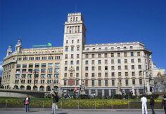 Edificio Banesto #Barcelona, Plaza Catalunya