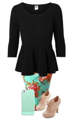 """"""""""" by miagracerobinson ❤ liked on Polyvore featuring Vero Moda and Casetify"""