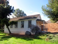 The Historic one-room San Pasqual schoolhouse, built in 1896, now located on the campus of La Sierra University, Riverside.