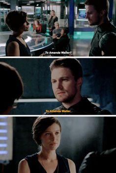 """To Amanda Waller"" - Lyla and Oliver #Arrow"