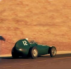 Stirling Moss, Vanwall VW 57 and Mike Hawthorn, Ferrari 246 went to Morocco for the final round of the 1958 Championship, with Moss needing to win and set fastest lap and Hawthorn to finish no lowe…