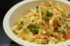 Asian Coleslaw | Easy Japanese Recipes at JustOneCookbook.com