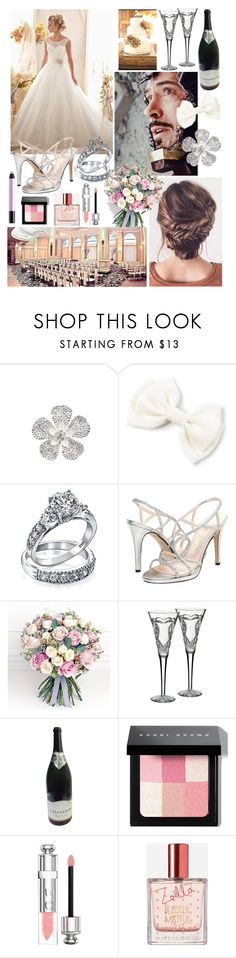 """""""Wedding Day - Tony Stark (Iron-Man)"""" by themarveldemigod ❤ liked on Polyvore featuring Bling Jewelry, Caparros, Philippa Craddock, Waterford, Bobbi Brown Cosmetics, Christian Dior, Zoella Beauty and shu uemura"""