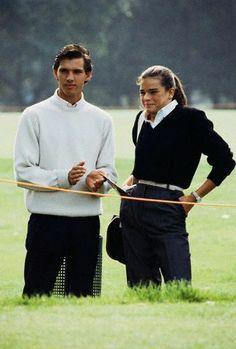 Paul Belmondo and Princess Stephanie