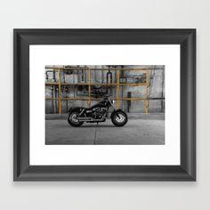 Motorcycle Engine, Framed Prints, Street, Home Decor, Decoration Home, Room Decor, Home Interior Design, Walkway, Home Decoration