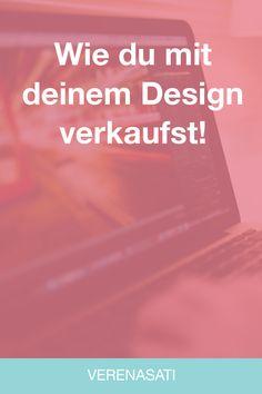 Verkaufst du mit deinem Design? Nein? Dann lies dir diesen Beitrag durch und finde heraus, wie dein Design dich beim Verkaufen unterstützt! Verkaufen ist für viele ein schwieriges Thema. Ja, es macht so einigen sogar richtig Angst. Kennst du das auch? Weißt du wer das für dich allerdings übernehmen kann und dich richtig stark unterstützt? Es ist dein