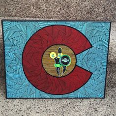 "11""x14"" original painting on gallery wrapped canvas $200.00 shipped #ballerado #bigzglass #colorado #tpaulkyart #tpaulky #headyart #supportlocalart #oprahsbookclub #chrontonomobay #hustleboro #buyboro #glassofig #wfayo #dopefam #smoke365 #ffourtwenty #weedstagram420 #highsociety #versace #stankyydankyy #keepitchronic #idgt #instaweed #bongbeauties #topshelflife #losganjales #dabbersdaily #dablife #deepdream #hrbnlife by tpaulky"