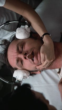 Jack Nicholson in One Flew Over The Cuckoos Nest, 1975.