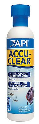 API Accu-Clear Carded Quickly Clears Cloudy Aquarium Water Easy Fast 8 oz Bottle Fish Pond Supplies, Aquarium, Vodka Bottle, Water, Goldfish Bowl, Aquarium Fish Tank, Aquarius, Fish Tank