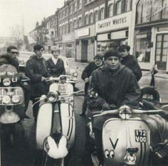 Life through the lens of Mod Vespa Ape, Lambretta Scooter, Retro Scooter, Youth Subcultures, Mod Look, Mod Girl, Motor Scooters, 60s Mod, The Best Films