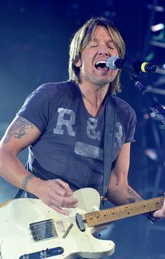 Keith Urban...once again, thank you Australia for your brilliant contributions to this world.
