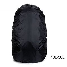 DAN Nylon Waterproof Travel Hiking Camping Accessory Backpack Dust Cover Rain Cover Black small *** Continue to the product at the image link.Note:It is affiliate link to Amazon.