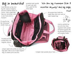Ju-Ju-Be BePrepared bag inside look