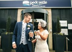 A beautiful picture of a recent Bride & Groom who got married in April. Got Married, Bride Groom, Real Weddings, Beautiful Pictures, Suit Jacket, Breast, Suits, Fashion, Moda