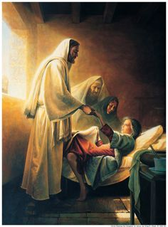 """LDS Gospel Doctrine Plus: New Testament Lesson #7 """"He Took Our Infirmities, and Bare Our Sicknesses"""""""