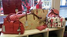 (Prices from just for a Radley foldaway shopping bag. Radley, Red And Pink, Yoshi, Valentine Day Gifts, Shopping Bag, Bags, Ideas, Handbags, Thoughts