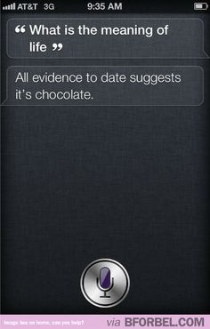 Siri Gives Great Advice…