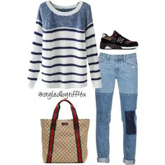 A fashion look from October 2015 featuring Chicnova Fashion sweaters, Paige Denim jeans and New Balance sneakers. Browse and shop related looks.
