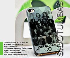 Metallica band - iPhone 4,4S,5,5S,5C, Case - Samsung Galaxy S3,S4,NOTE,Mini, Cover, Accessories,Gift