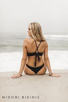 cb60aa94dd4c2 Midori Bikinis  Malu (Black) bikini set. Photo by Chase Vicken.