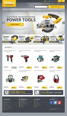 Power Tools | #webdesign #it #web #design #layout #userinterface #website #webdesign < repinned by www.BlickeDeeler.de | Take a look at www.WebsiteDesign-Hamburg.de Web Layout, Website Layout, Layout Design, Website Design Inspiration, Interface Design, Power Tools, Tool Design, Business Design, Apps