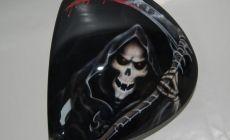 """""""The Grim Reaper""""...La faucheuse sur un driver Tayloer Made R9 460"""