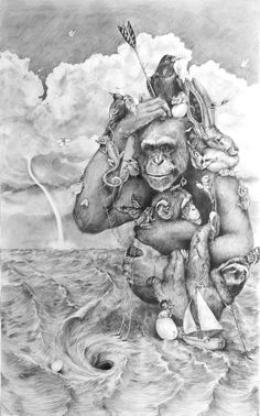 Amazing #Pencil #Illustrations by Adonna Khare #creative