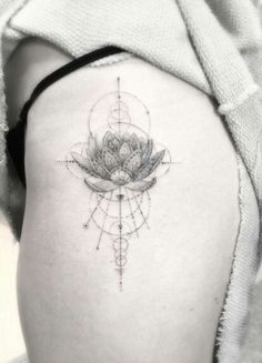 Sacred geometry Lotus flower                                                                                                                                                                                 More