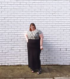 Fashion Friday Style Edit // Monochrome | Inside City Chic - Women's Plus Size Fashion City Chic - City Chic Your Leading Plus Size Fashion Destination #citychic #citychiconline #newarrivals #plussize #plusfashion