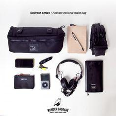WONDER BAGGAGE / Activate optional waist bag