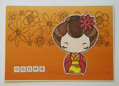 Fiskarettes Design Team - työt : Lämmin onnittelukortti » Fiskarettes FI The Greeting Farm stamp