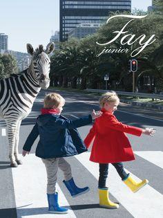 Fay Junior F/W 2014 photo by Marco Tassinari - styling & concept Petra Barkhof